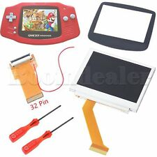 New Game Boy Advance MOD LCD Backlight Kit 32 Pin GBA SP AGS-101 Backlit Screen