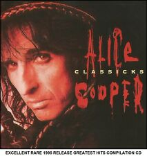 Alice Cooper Very Best Greatest Hits Collection RARE CD 70's 80's Rock Metal CD