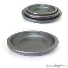 Korean Sizzling Plate for Steak and Bulgogi, Premium Ceramic Stoneware