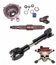 Jeep TJ 231 Slip Yoke Eliminator SYE Kit & 1310 CV Driveshaft TJ TeraFlex