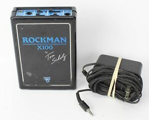 Vintage SR&D Rockman X100 Tom Scholz Headphone Guitar Effect Amplifier AMP