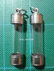 2 Pcs Takrud Tube Casing Sytle Thai Amulet Takrut Case Frame Hanging Handmade