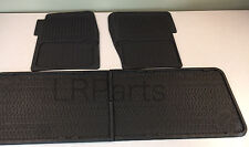 LAND ROVER DEFENDER 110 FRONT REAR SEAT RUBBER FLOOR MATS KIT RTC8099 GENUINE