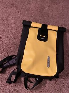Ortlieb Velocity Backpack( 17 L.) Brand New (yellow) Water Proof