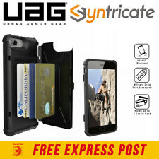 UAG Trooper Credit Card Rugged Tough Case for iPhone 8 Plus 7 Plus 6S Plus Black