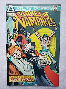 Planet of Vampires #2 (Apr. 1975, Seaboard / Atlas) [FN/VF] Neal Adams cover