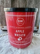DW Home Extra Large 26.2 oz. Apple Wreath Triple-Wick Candle - 90 Hours