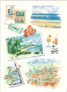Phoenix Trading - Greeting card -  Travel - One Brand New Card