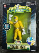 "Power Rangers Zeo 1996 8"" Zeo Ranger II Yellow MIB"
