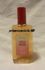 VINTAGE WILD MUSK BY COTY PERFUME FOR WOMEN 3.0 OZ / 88 ML COLOGNE SPRAY RARE