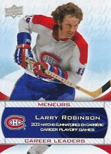 2008-09 Montreal Canadiens Centennial Career Leaders - Larry Robinson #243