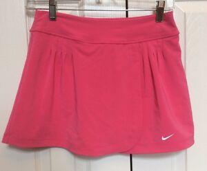 Nike Juniors Skort Dark Pink Dri Fit Tennis Golf Size Large
