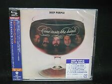 DEEP PURPLE Come Taste The Band + 3 JAPAN SHM 2CD (35th ANNIVERSARY EDITION)