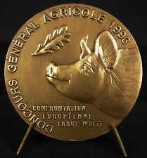 Médaille Le Salon international de l'agriculture porc cochon pig animal medal