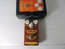 Mad Professor Sweet Honey Overdrive OD Effects Pedal w/Original Box Free USA S&H