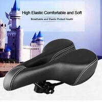 Bike Bicycle Gel Cruiser Sporty Soft Pad Saddle Seat Extra Comfort Wide Big Bum