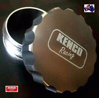 "50mm / 2"" Kenco Racing Aluminium Weld On Fuel Tank Neck Cap Race Car Speedway"