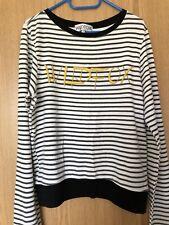 WILDFOX Women's Stripe Sweatshirt Top Size S Small