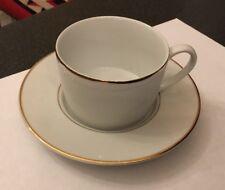 Sabichi White Bone China Espresso Coffee Cup and Saucer