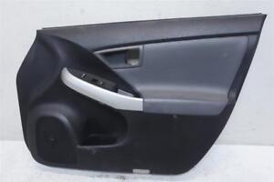 12 13 14 15 Toyota Prius 1.8L Front Passenger Door Panel Liner Lining Interior