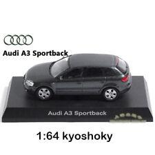 Grey Kyosho 1:64 AUDI A3 Diecast Model Car Mint 1/64 2007 limited edition