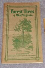 """Forest Trees of West Virginia:How to Know Them1936Book Manual Guide""""Mingo Oak""""WV"""