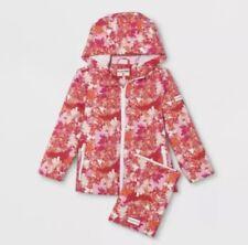 NWT HUNTER for Target Toddler Girls Rain Jacket Windbreaker 3T