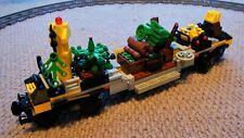 Lego Christmas Train Cargo Custom Flat Bed Works Carriage MOC