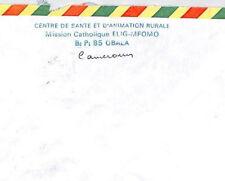CA111 Cameroon *Mission Catholique ELIG-MFOMO* Cachet Cover MISSIONARY VEHICLES