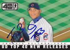 FRANCIS BELTRAN CHICAGO CUBS SIGNED BASEBALL CARD DETROIT TIGERS MONTREAL EXPOS