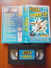 VHS Musicale 883 VIDEO LP LA DURA LEGGE DEL GOL Pezzali 1997 FRI 1151-3 no dvd
