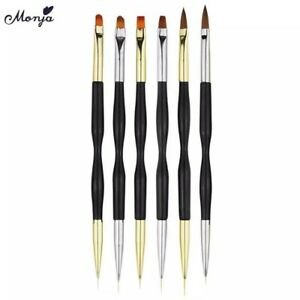 Double Nail Brush Manicure Tool: Gel Polish Lining Drawing Nail Pen