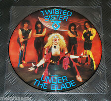 Twisted Sister 'Under The Blade' UK 85 Pic LP Picture Disc Vinyl Record Rare OOP