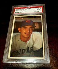 1953 Bowman  Color #42 Tommy Brown Chicago Cubs. PSA 4