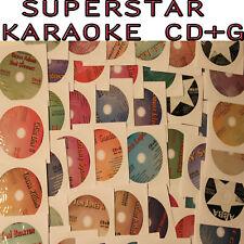 SuperStar Karaoke CD+G Single Artist 56 Disc+Best 2010Tom Jones,Santana,Madonna