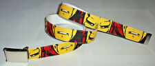 IRONMAN BELT & Buckle The Avengers Marvel Comic Book Super Hero Movie Gear New