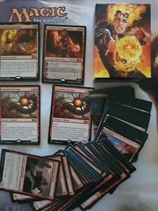 MTG Planeswalker  Chandra, Flames Catalyst Deck Magic the Gathering  (ammended)