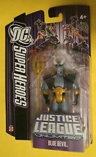 "Blue Devil JUSTICE LEAGUE UNLIMITED 4.5"" action figure DC Universe JLU MATTEL"