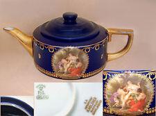 "Imperial PsL (Pfeiffer & Lowenstein): ""Europa & the Bull"" Drum Teapot: 1914-1918"