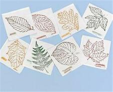 LEAVES Rubbing Plates Set 1 Teacher Science Montessori Art Crafts Drawing