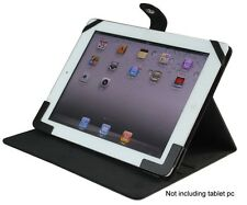 "Apple iPad 1/ 2/ 3/ 4  Black Smart cover Leather Case for most of 9.7"" Tablet pc"