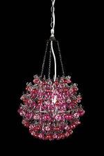 Girl's / Teens Pink and Fuschia Orb Light / Chandelier