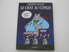 LE CHAT AU CONGO BE/TBE REEDITION PHILIPPE GELUCK