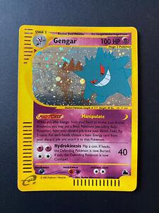 Gengar H9 Rare Holo Skyridge 2003 Near Mint Pokemon Card