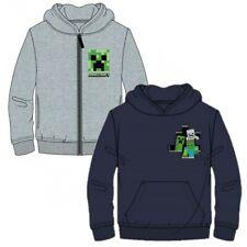Boys Girls Kids Children Gamer Minecraft Jumper Hoodie Hoody Sweatshirt 5-12Yrs