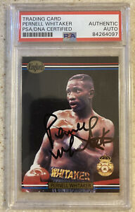 """Pernell Whitaker 💎 HOF/GOAT!!! PSA CERTIFIED AUTO """"ROOKIE"""" CARD!!! 1991 #34"""