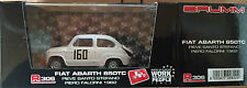 "DIE CAST BRUMM "" FIAT ABARTH 850TC PIEVE SANTO STEFANO 1962 "" R306 1/43"
