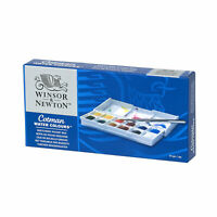 Winsor & Newton Cotman Watercolors Paint Set - Sketchers Pocket Box - FREE SHIP