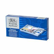Winsor & Newton Cotman Watercolors Paint Set - Sketchers Pocket Box