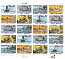 USA 1996 MNH FULL SHEET, RIVER BOATS